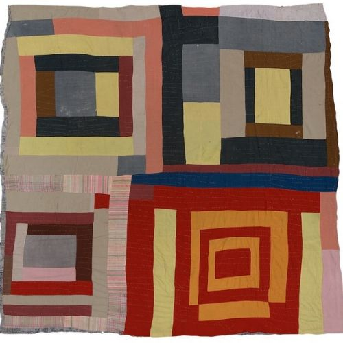 Textiles | Gees Bend Quilt Collage | 7-9 years