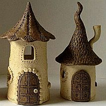 Ceramics | Hobbit Houses | 8-12 years