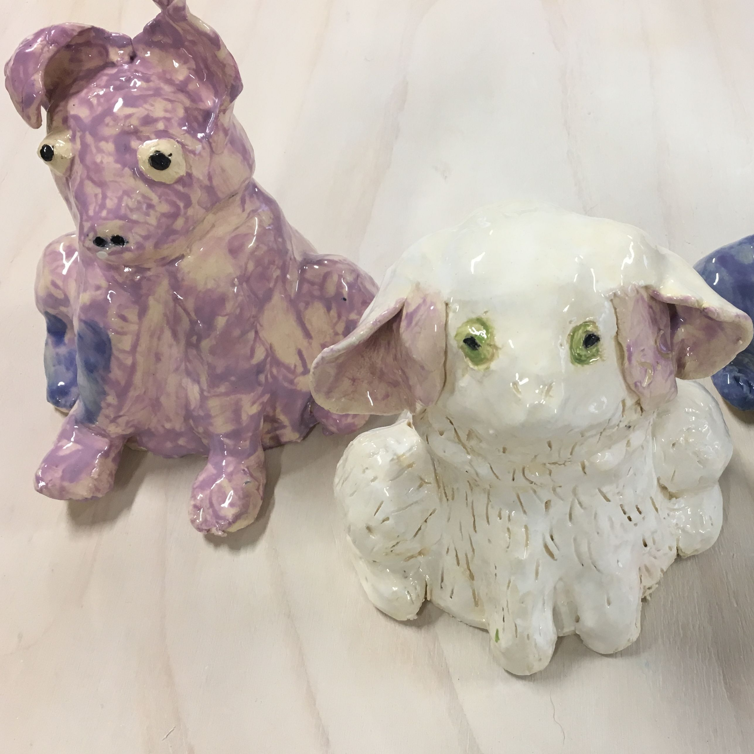 Ceramics | Cats + Dogs  | 8-12  years