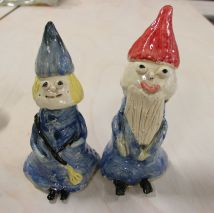 Ceramics | Gnomes  | 8-12 years