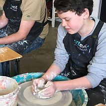Pottery Wheel School Holiday Fun | 8-12 years