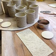 Ceramics | Textured Clay Vessels with Denise McDonald