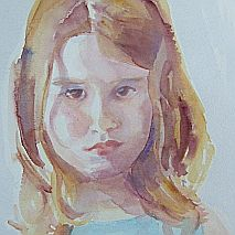 Watercolour Master Class | Painting Portraits of Children | One Day Workshop