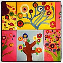 Painting | All the Trees in Bloom | 5-7 years