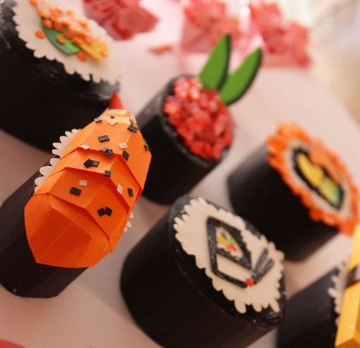Paper Sushi Yumminess | 8-12 years