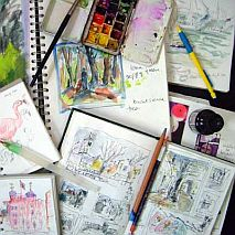 Developing your Drawing   Sketchbooks and Visual Diaries   12+