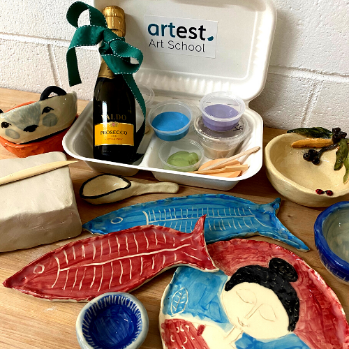 Online | Pottery + Prosecco | Handmade Bowls Evening Workshop
