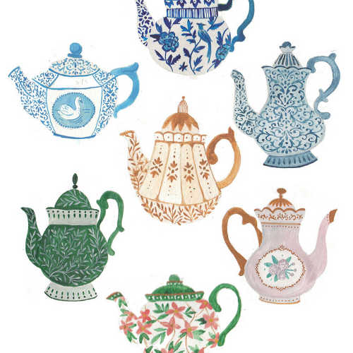 Illustration | Terrific Teapots | 8-12 years