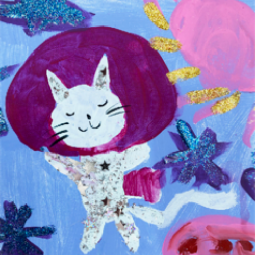 Paint | Cosmic Cat Constellations | 5-7 years