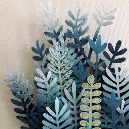 Sculpture | Paper Ferns | 8-12 years