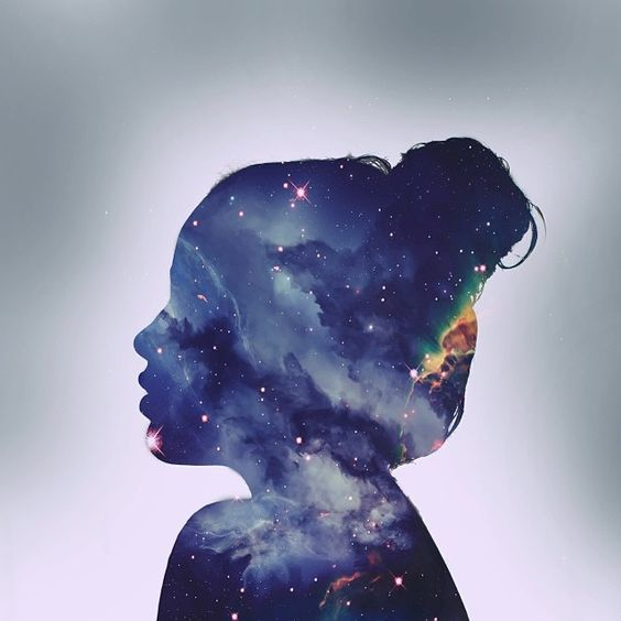 Online | Watercolour Galaxy Portraits | 8-12 years