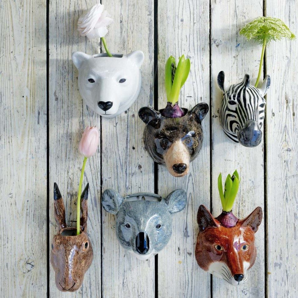 Ceramic Safari Animals Pots | 8-12 years old