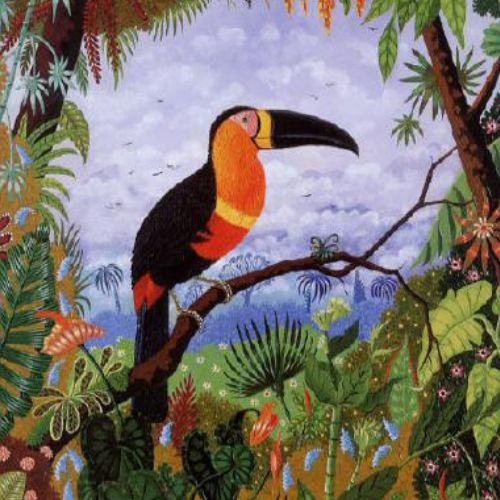 Painting |  Tropical Toucans | 5-7 years