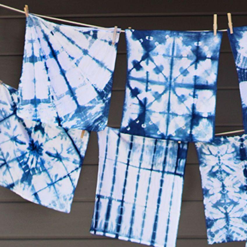 Shibori Textile Art | 8-12 years
