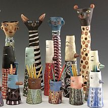 Clay | Animal Totems inspired by Jenny Mendes | 8-12 years