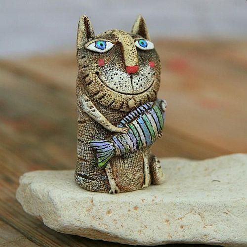 Ceramics | Cat or Dog Sculptures for your Garden with Kara Pryor