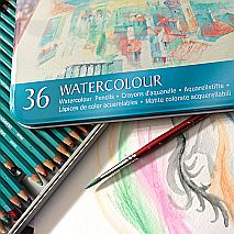 Draw and Paint with Watercolour Pencils | Tanya Baily