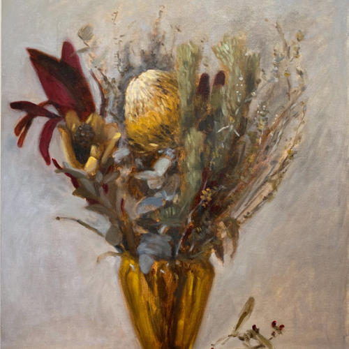 Online | Painting Flowers from Life | Oil Painting with Jackson Davies
