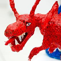 Sculpture | 3D Dragon Sculpture | 7-9 years