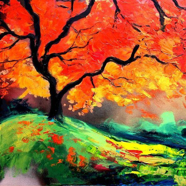 Paint A Fiery Landscape | 10+ years