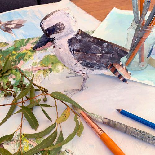 Australian Bush and Birds | 2 day Master class  with Tannya Harricks | 8-12s