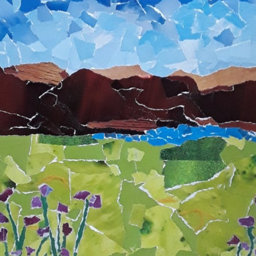 Collage | Landscapes | 8-12 years