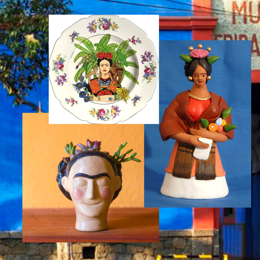 Family workshop | Frida Kahlo Ceramic Sunday Workshop | International Woman's Day 2020