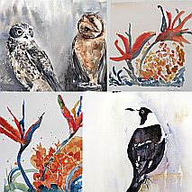 Watercolour | Painting Birds One Day workshop | Susie Murphie
