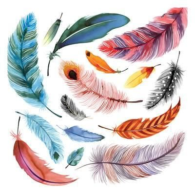 Illustration | Feathers and other light essences | 8-12 years