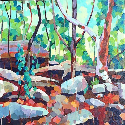 Acrylic Painting | Vibrant Impressions | Mellissa Read-Devine