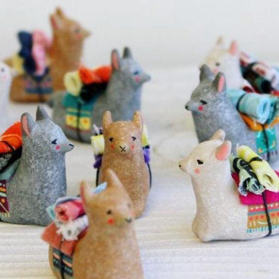 Ceramic Llamas or Donkeys | 5-7 years