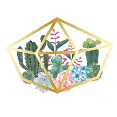 Art Nights | Online | Watercolour Terrariums with Monika Diak