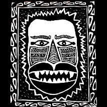 Printmaking | Cool Tribal Inspired Prints | 8-12 years