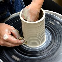 Pottery Wheel Master Class for Teens | 1 day