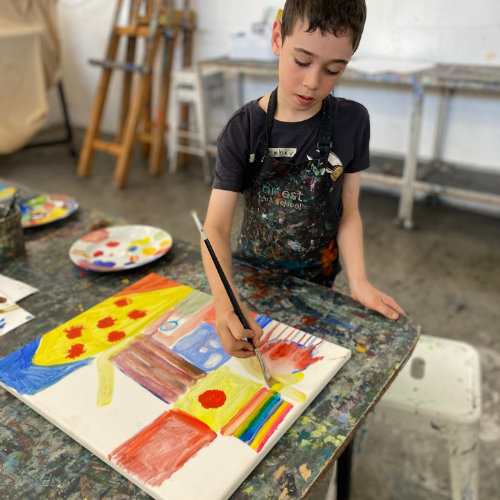 Developing Your Painting | Exploring Colour | 8-12 years