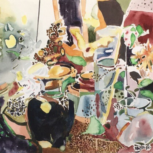 Online | Expressive Watercolours with Tanya Baily
