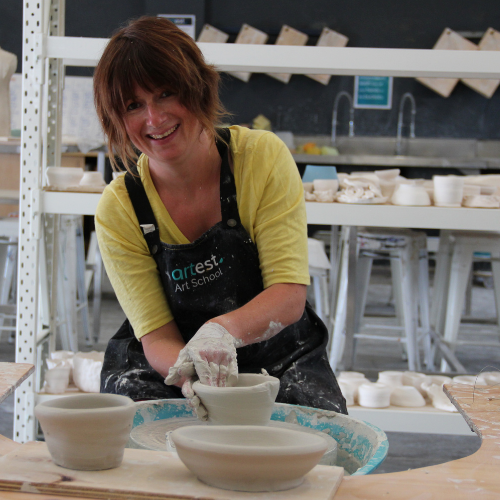 Pottery Wheel Intensive for Teens | 2 day workshop