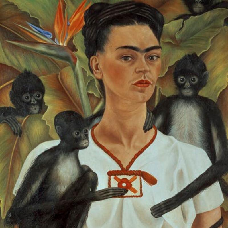 Painting Frida Kahlo portraits | International Women's Day 2020
