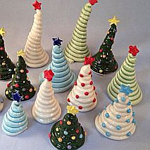Ceramic Coily Christmas Trees | 5-7 years