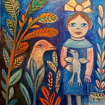 Painting | Whimsical Toys like Mirka Mora | 5-7 years
