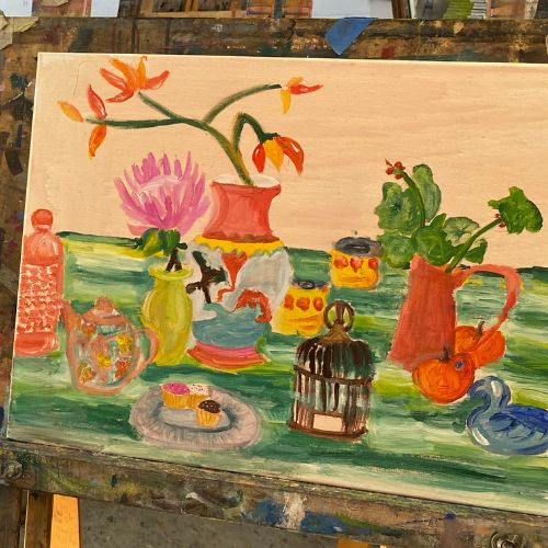 Painting Masterclass for Teens | Exploring Colour in Acrylics