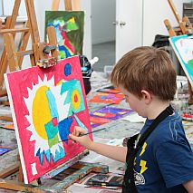 Painting | Mix it Up Abstract Fun | Kinder-year 2