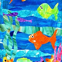 Paint + Collage Colourful Coral Reefs | 5-7s