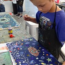 Paint | Cosmos, The Universe and Everything | 7-9 years