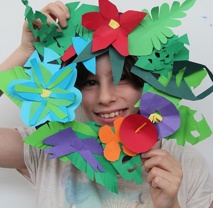 Christmas Paper Wreaths | 9-12 years