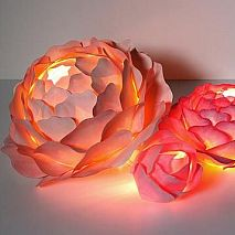 Paper Flower Lights | 8-12 years