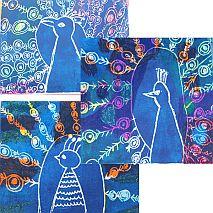 Printmaking | Peacocks in Print | 5-7 years
