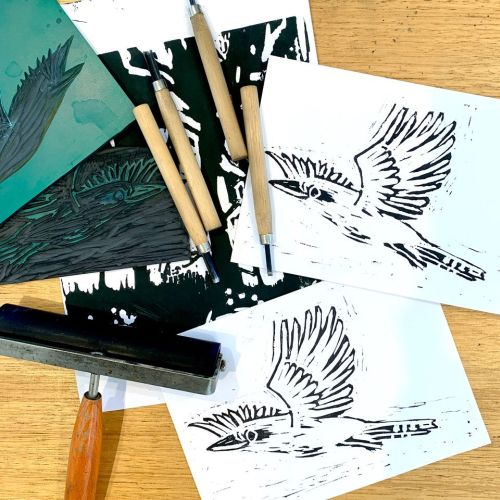 Printmaking  | Designing cards | 10 and over