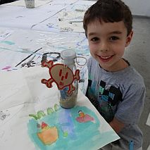 Painting | Pirates Maps and Secret Treasures | 5-7 years