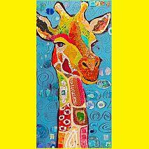 Paint Gentle Giraffes  | 5-7 years